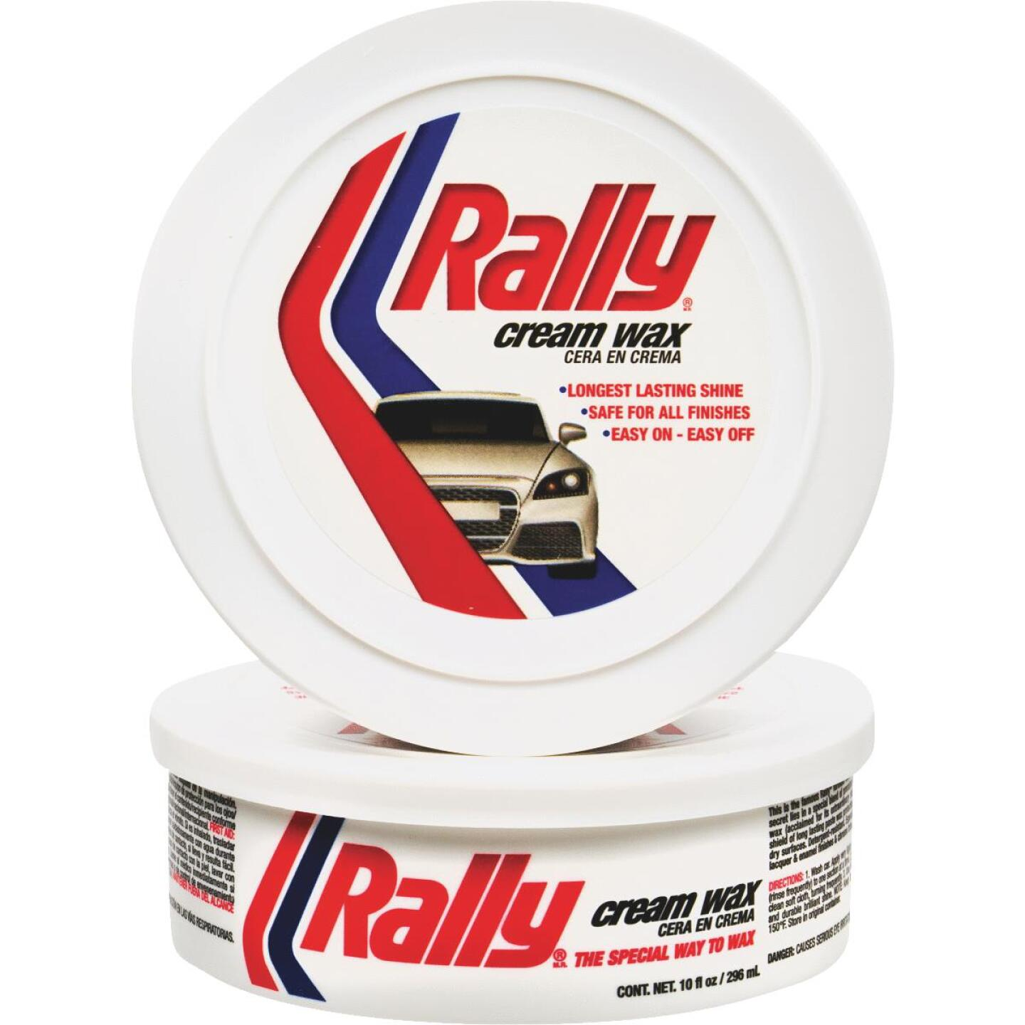 Rally Paste 10 oz Car Wax Image 1