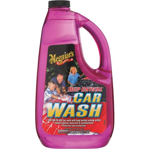 Meguiars Deep Crystal Liquid 64 oz Car Wash